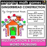 Christmas Multiplication and Division Word Problems Game