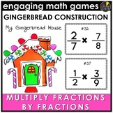 Christmas Multiplying Fractions Game