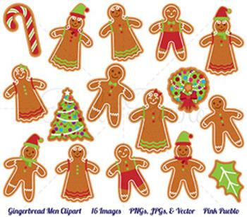 Gingerbread Cookie Clipart Gingerbread Man Clip Art Christmas Gingerbread