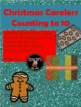 Gingerbread Cookie Counting to 10