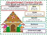 Gingerbread Cookie Gylph for PreK, K, and First