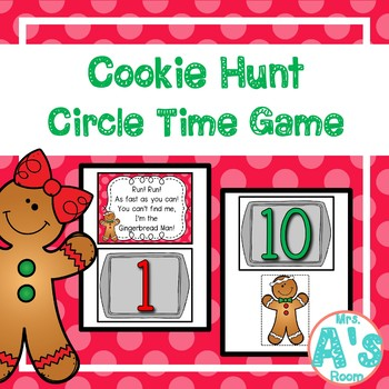 Gingerbread Cookie Hunt Circle Time Game