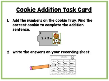 Gingerbread Cookie Literacy and Math Fun!