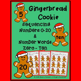 Gingerbread Cookie - Sequencing