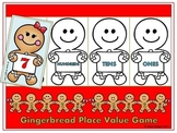 Gingerbread Cookie Place Value Game