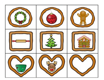 Syllable Sort Gingerbread Cookie