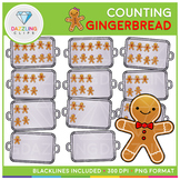 Gingerbread Cookies Counting Clip Art