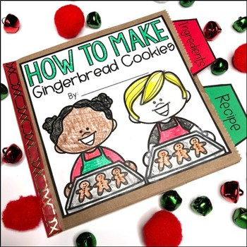 HOW TO Make Gingerbread Cookies Paper Bag Book