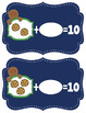 Gingerbread Cookies - How Many to Make 10? Making Ten Math Game