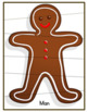 Gingerbread Cookies/ Matching & Puzzles