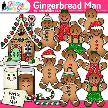 Free Gingerbread Cookie Cliparts, Download Free Clip Art, Free Clip Art on  Clipart Library