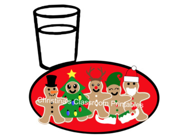 Gingerbread Cookies & Milk ( December Reward)