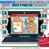 Gingerbread Cookies - Practicing R Controlled Words - Boss