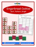 Gingerbread Cookies Sort, Pattern, Graph