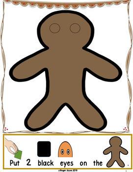 Gingerbread Cookies & Treats-BUNDLE (PreK-2/SPED/ELL)