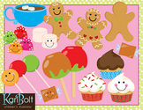 Gingerbread, Cookies, and More Clip Art