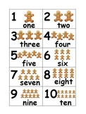 Gingerbread Count Cards