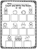 Gingerbread Count and Write the Room 0-10 Freebie!