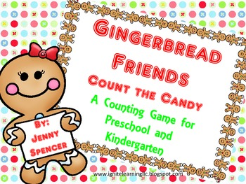 Gingerbread Count the Candy Game