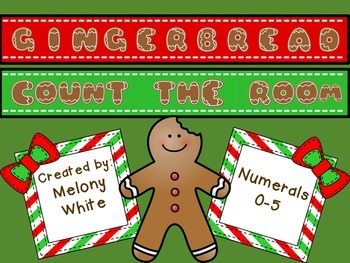 Gingerbread Count the Room Numerals 0-5