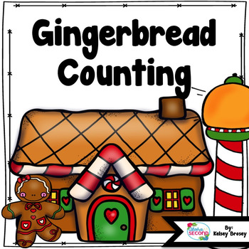 Gingerbread Man Math {Counting Activity}