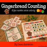 Gingerbread Counting Math - A Fun Number Sense Activity