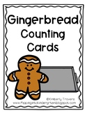 Gingerbread Counting Cards