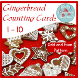 Gingerbread Counting Cards - Odd and Even