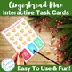 Gingerbread Counting Interactive Task Cards Center