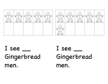 Gingerbread Counting Story