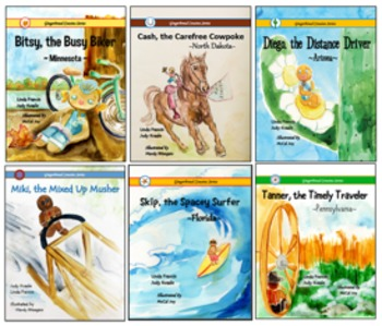 Gingerbread Cousins Book Bundle {6 books}