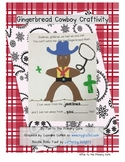 Gingerbread Cowboy Craftivity