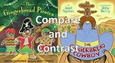 Gingerbread Cowboy & Gingerbread Pirates Powerpoint