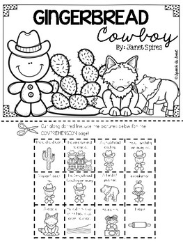 Gingerbread Cowboy Literature Lap Book