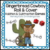 Gingerbread Man Activities: Gingerbread Cowboy Math Games