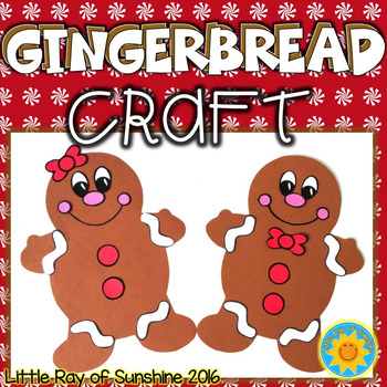 Gingerbread Craft Boy & Girl
