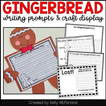 Gingerbread {Craft and Writing}