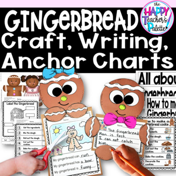 Gingerbread Craft and Writing Activity