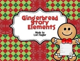 Gingerbread Craftivity & Story Elements