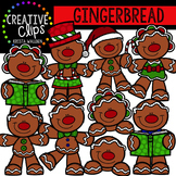 Gingerbread Clipart {Creative Clips Clipart}