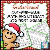 Gingerbread Man Activities First Grade Math and Literacy