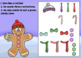 Gingerbread Cut-and-Glue Math and Literacy for First Grade