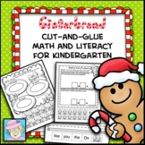 Gingerbread Man Activities Math and Literacy Worksheets for Kindergarten