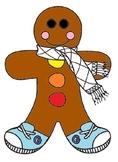 Gingerbread Cut n' Color
