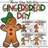 Gingerbread Day Bundle Activities