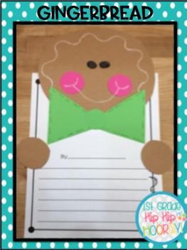 Gingerbread Day!  Crafts and Activities