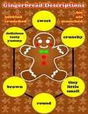 Gingerbread Description Adjective Poster