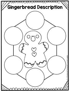 Gingerbread Description Writing Freebie