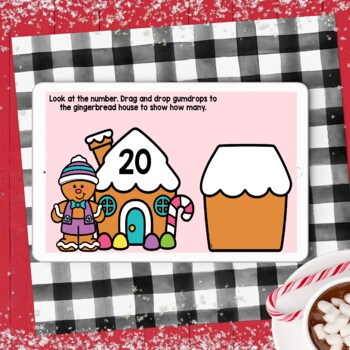 Dollar Deals Gingerbread Dice