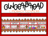 Gingerbread Differentiated Literacy Centers